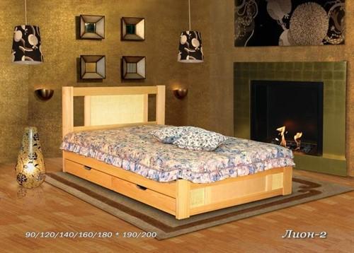 Кровать Лион 2 (с ящиками)