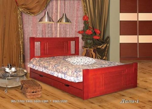 Кровать Дали 1 (с ящиками)