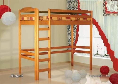 Кровать Детская чердак лицей