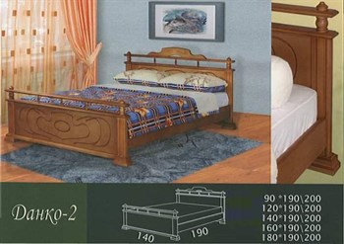 Кровать Данко 2