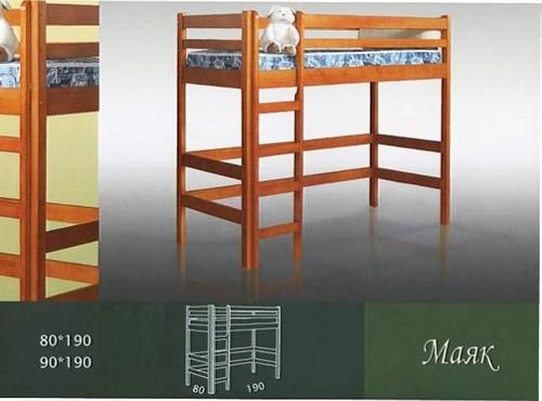 Кровать Детская Маяк - фото 124396