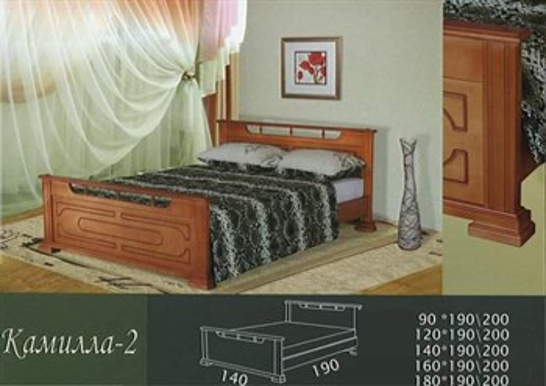 Кровать Камилла 2