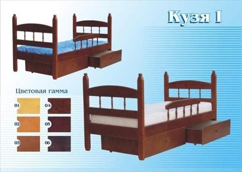 Кровать Кузя 1