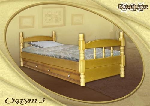 Кровать Скаут 3 (с ящ.)