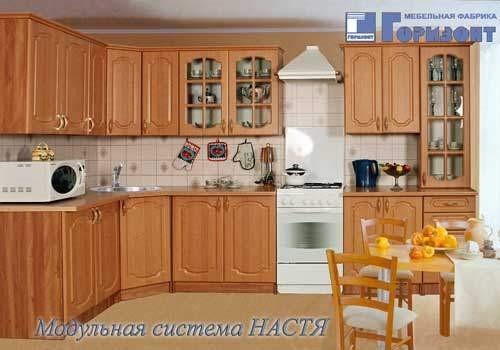 Кухня угловая Настя