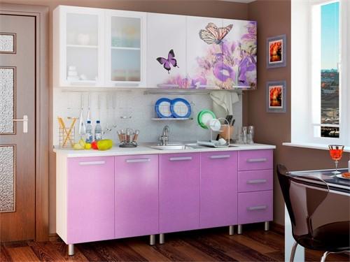 Кухня эконом класса Бабочки 2