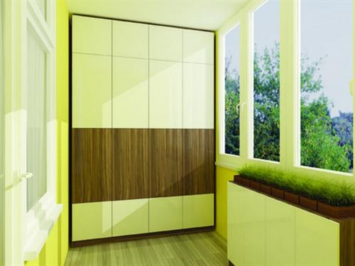 Шкаф для балкона №1