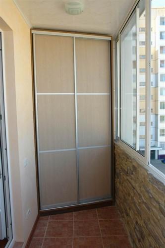 Шкаф для балкона №4